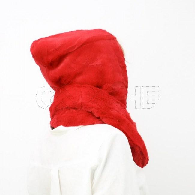 Gola Capuz Vermelho