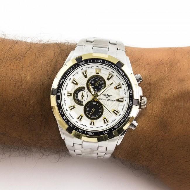 Relógio Fory White