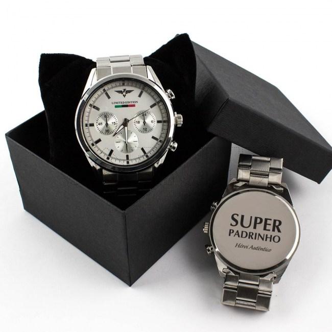 Relógio Padrinho Personalizavel