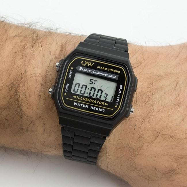 Relógio Digital Black