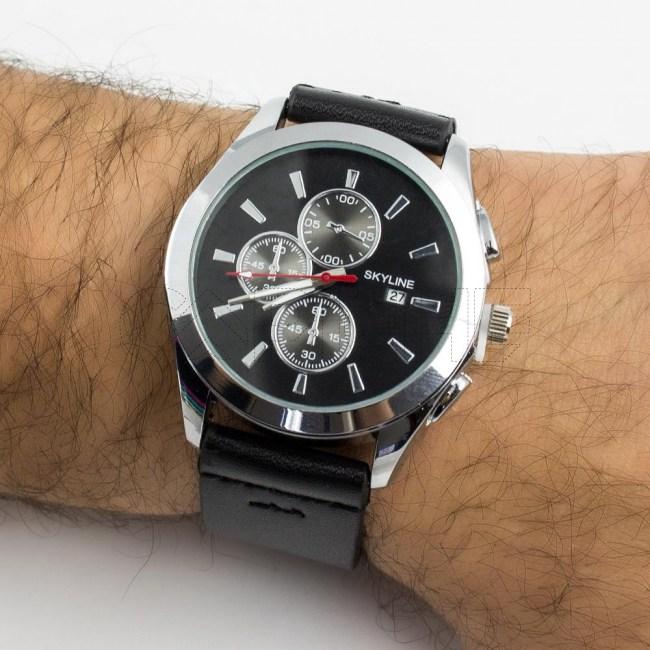 Relógio Wasabi Preto