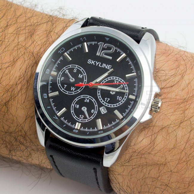Relógio Carbon
