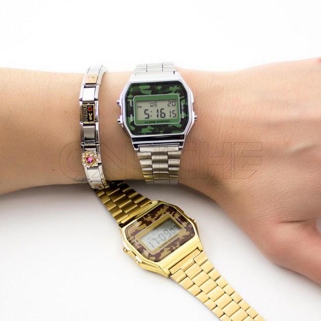 Relógio Digital Camuflas