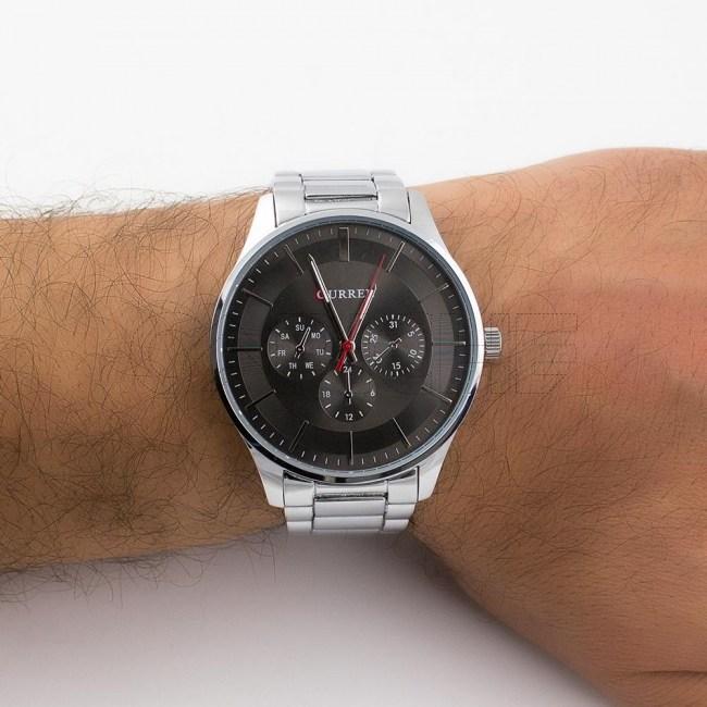 Relógio em aço Belgic