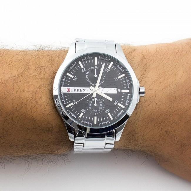 Relógio Aço Lobato