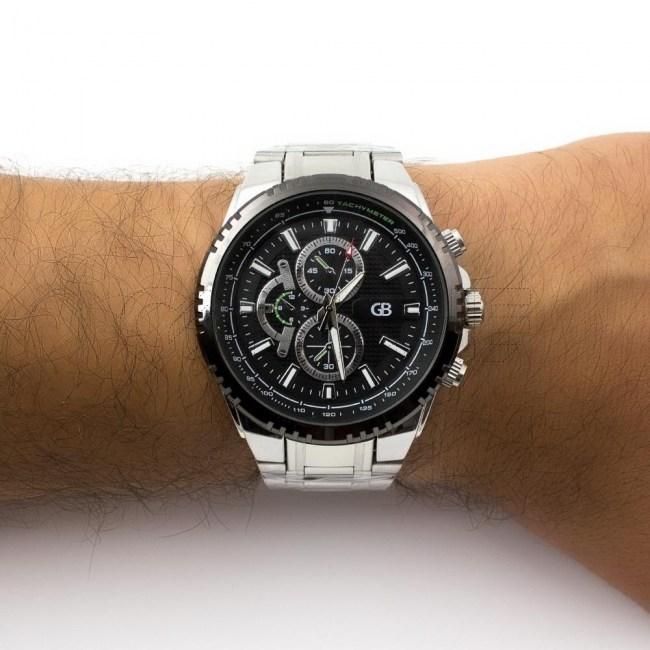 Relógio Aço Breakout