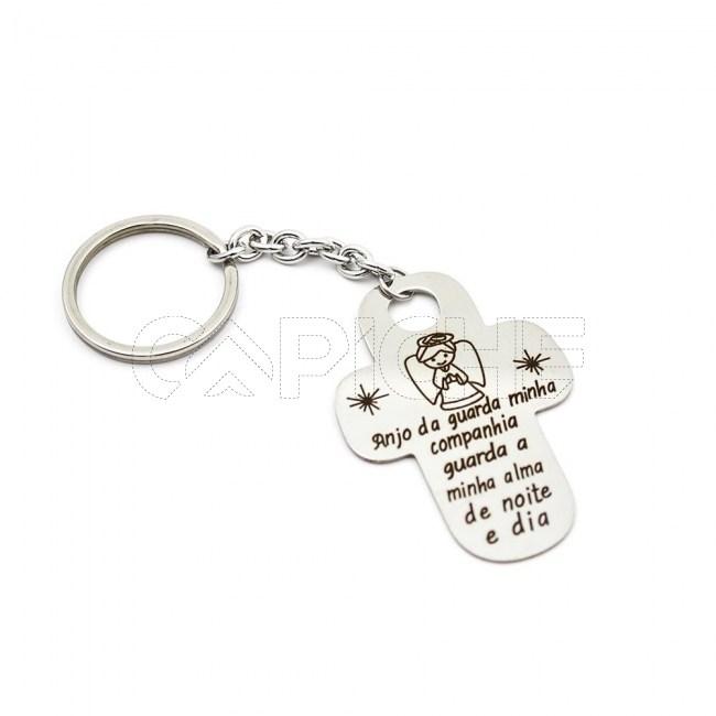 Porta chaves Anjo da Guarda