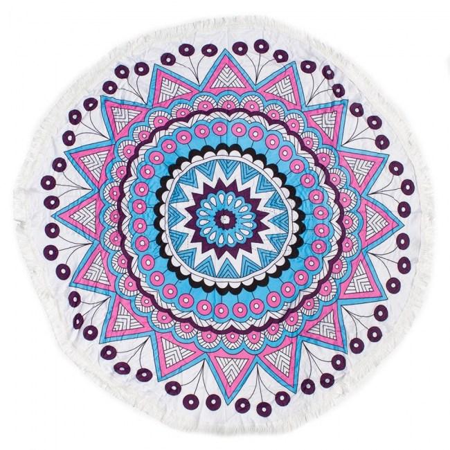 Mandala Tribal Rosa Fino