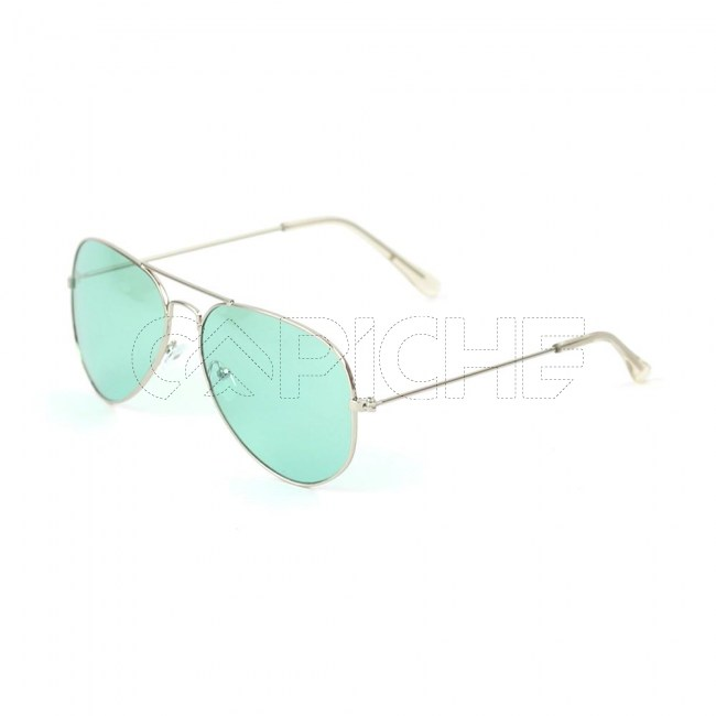 Óculos Aviator Colors Turquesa