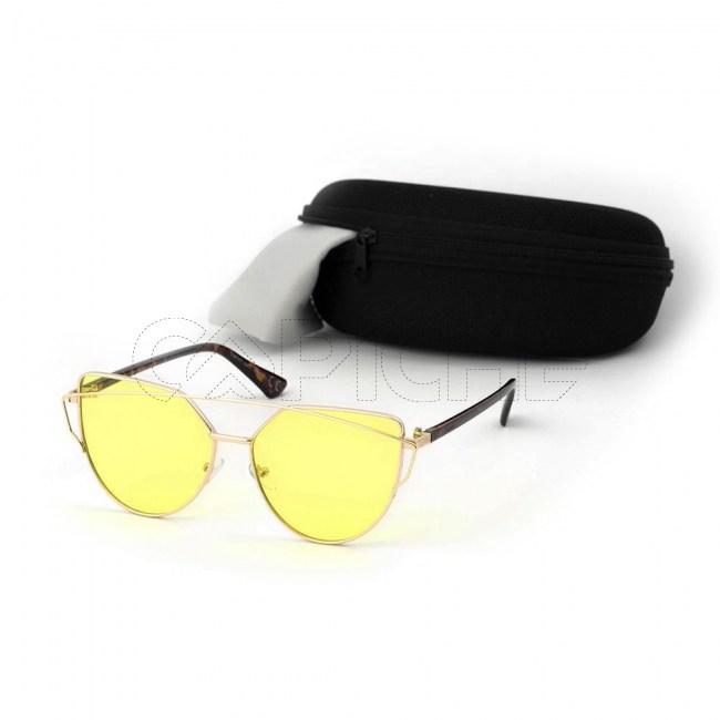Óculos de sol Lovepunch Clear Limão