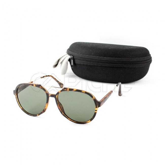 Óculos de sol Flip castanho