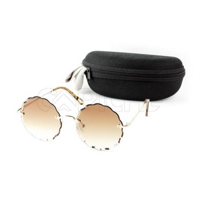 Óculos de sol Xsaran Round Brown
