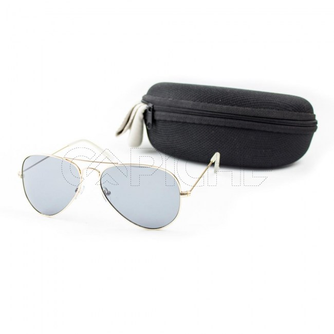Óculos de sol Aviator Clássico Noir