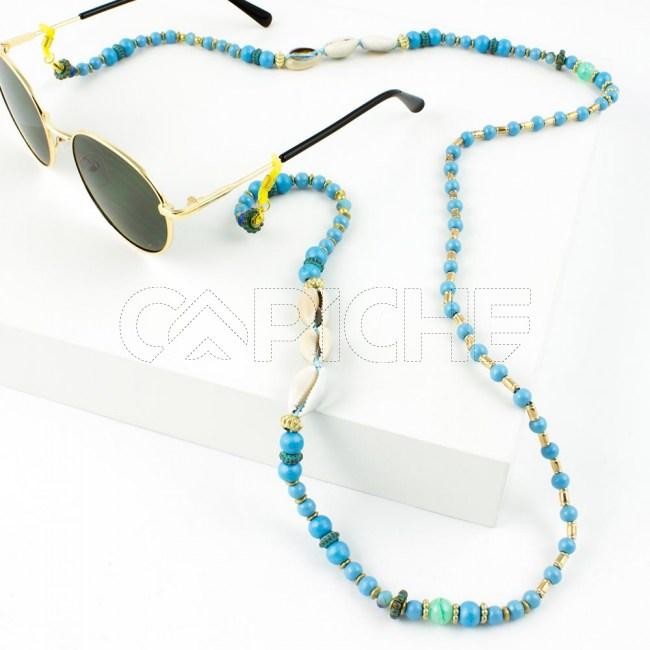Fio / Cordão Blue Buzios para Óculos