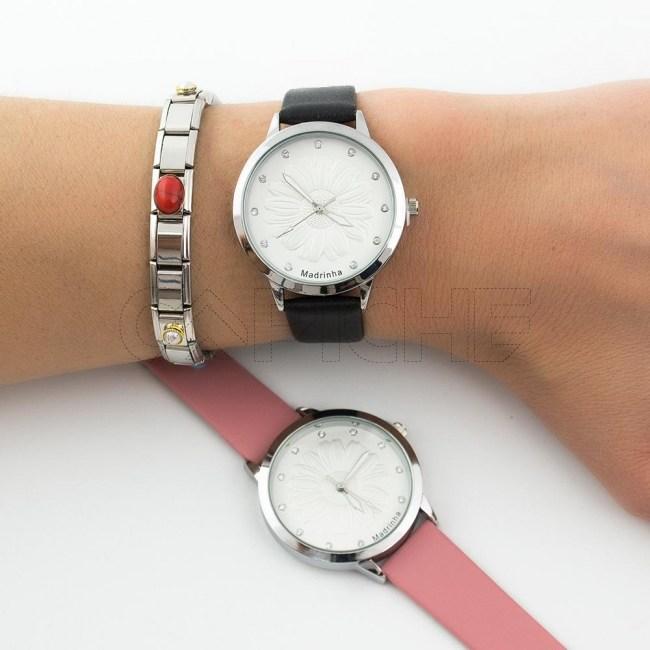 Relógio Flor Madrinha