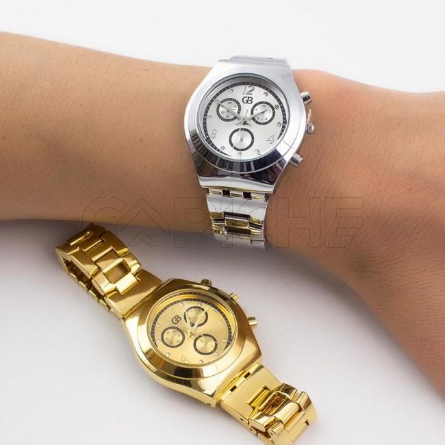 Relógio Aço Safira