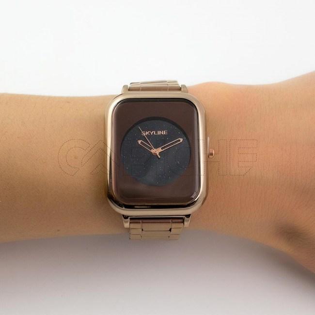 Relógio Aço Night Bronze