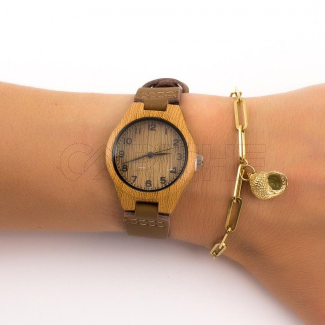 Relógio Lenha