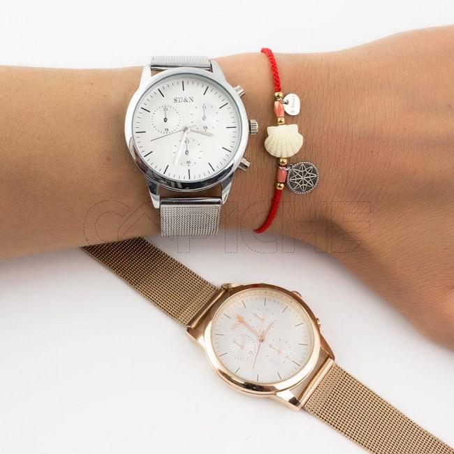 Relógio Aço Alita