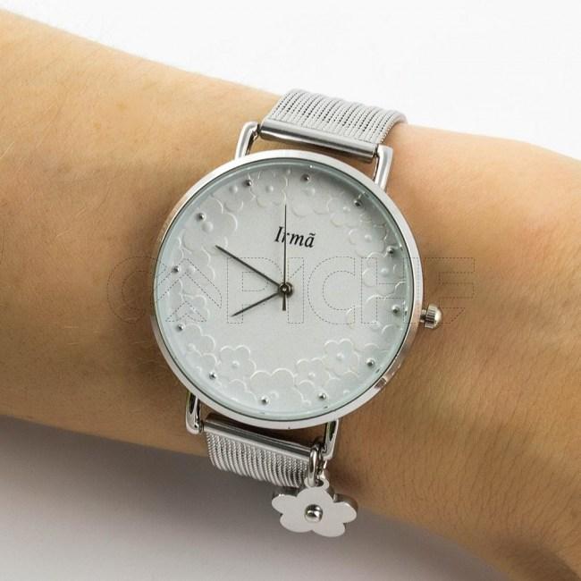 Relógio em aço Irmã