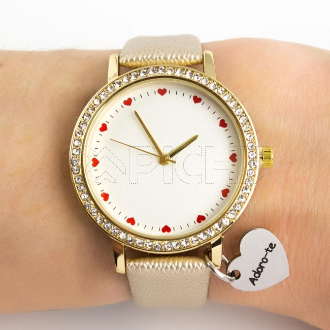 Relógio Adoro-te
