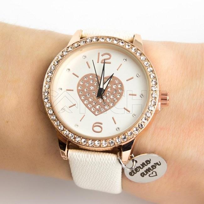 Relógio Amor Eterno