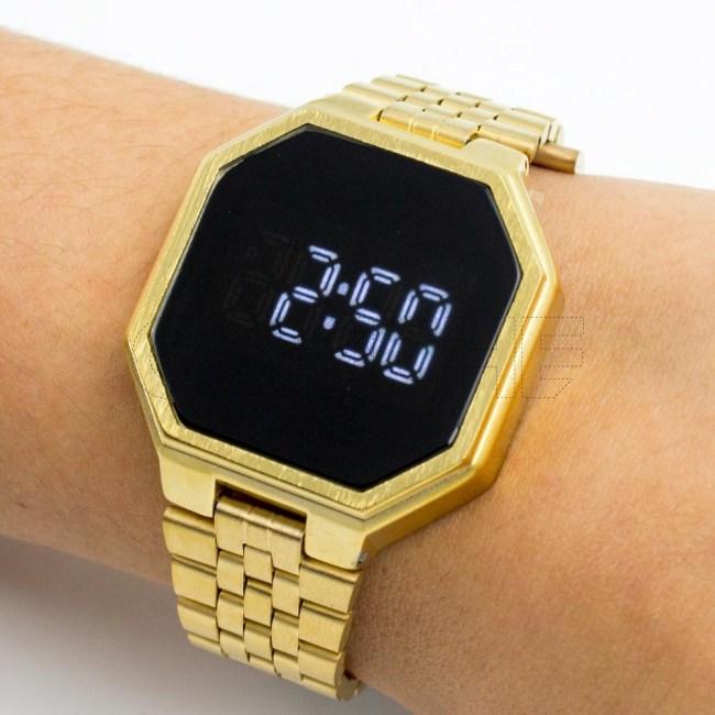 Relógio Diane Dourado