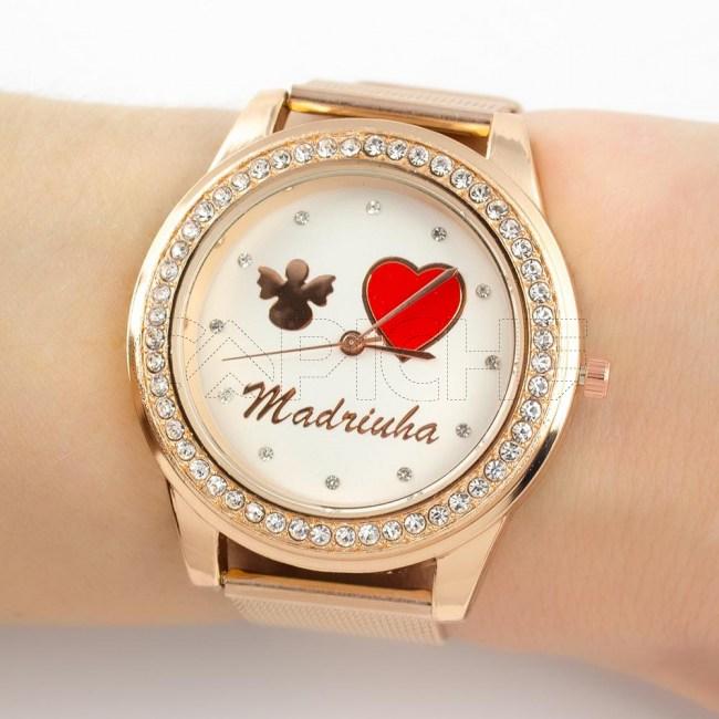 Relógio Madrinha Rose gold
