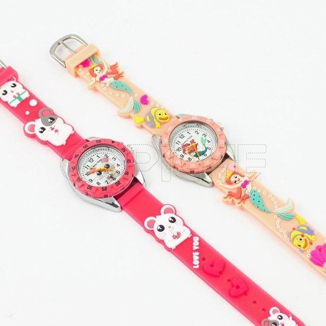 Relógio Criança Ratinho / Sereia
