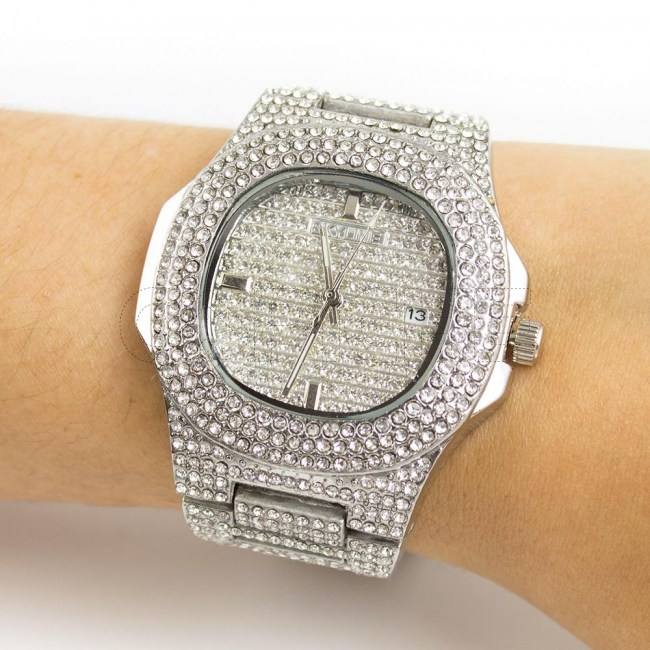 Relógio Brilliant Prata