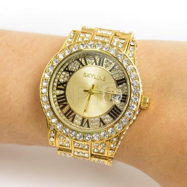 Relógio Roma Gold