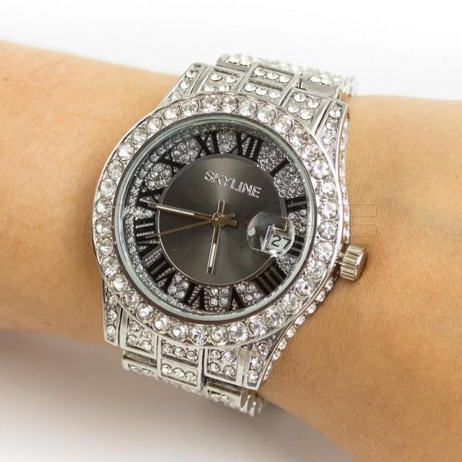 Relógio Roma Prata