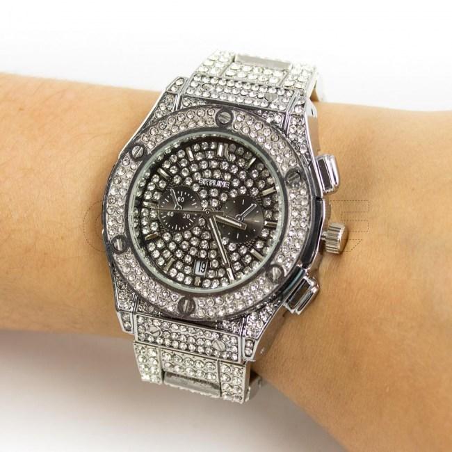 Relógio Rabal Prata