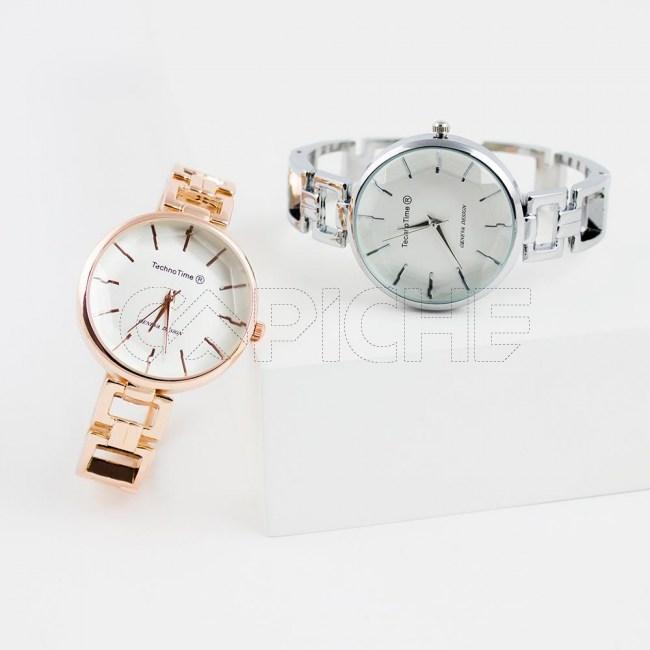 Relógio Pulseira Simply Prata