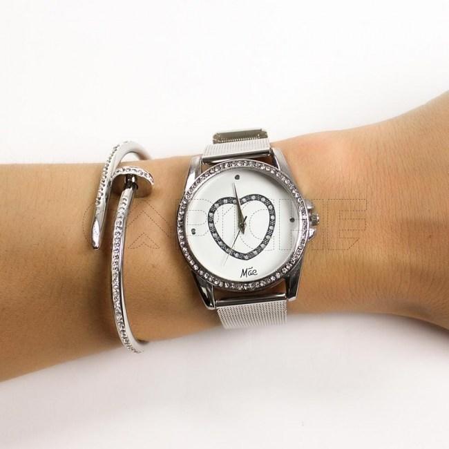 Relógio Coração Mãe