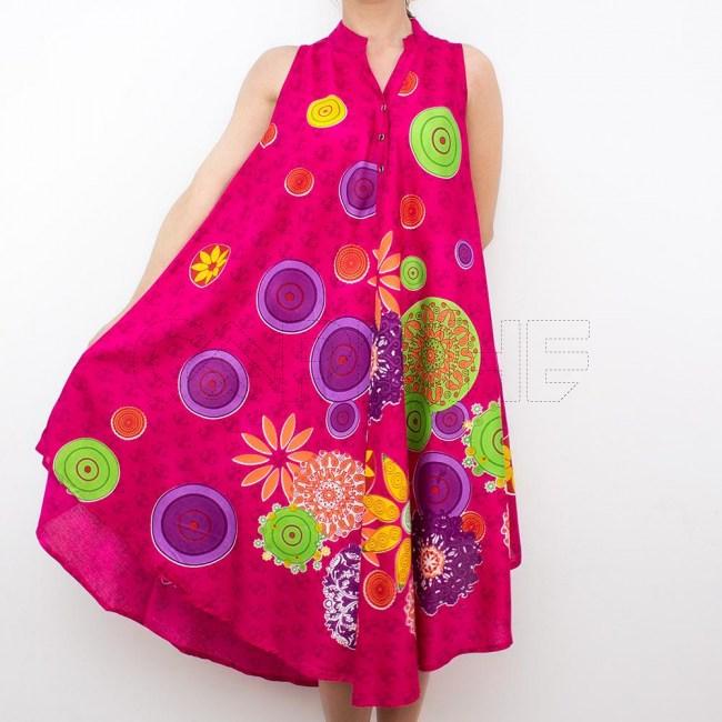 Vestido Circle Rosa