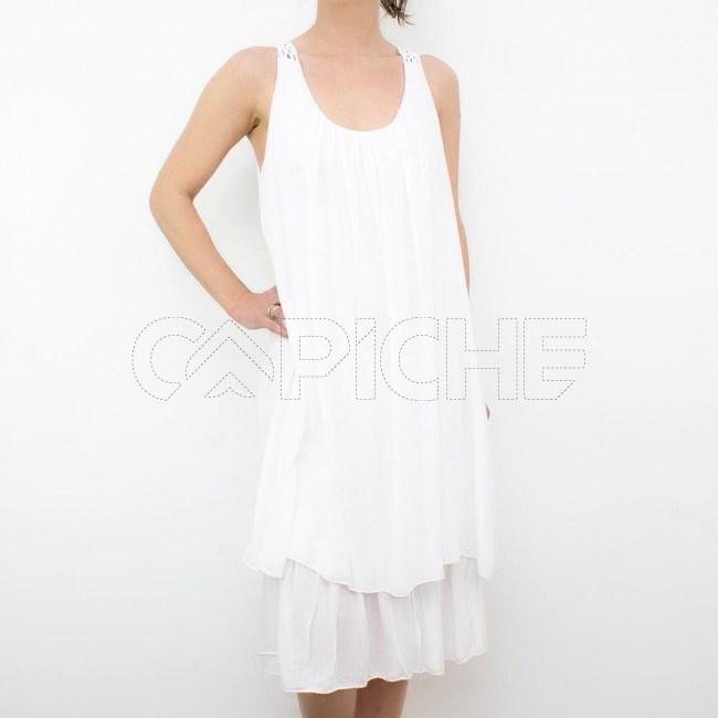 Vestido Deserto Branco