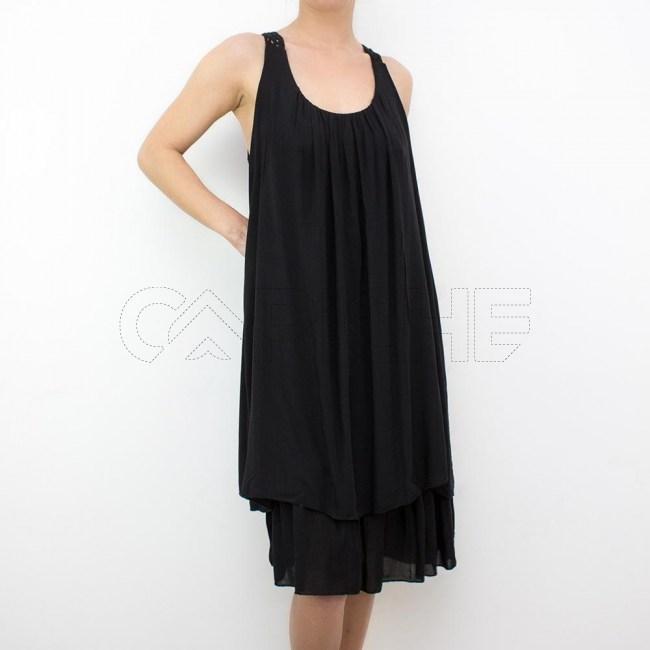 Vestido Deserto preto