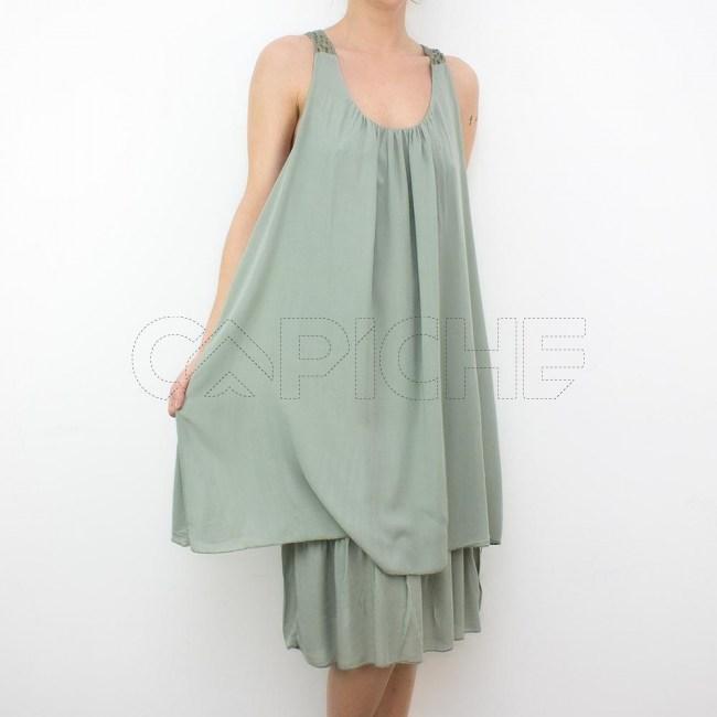 Vestido Deserto Verde