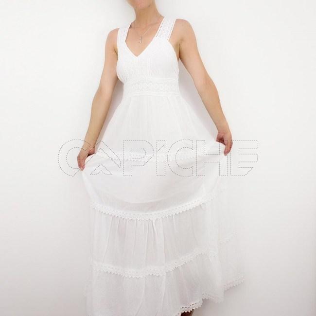 Vestido Sino Branco