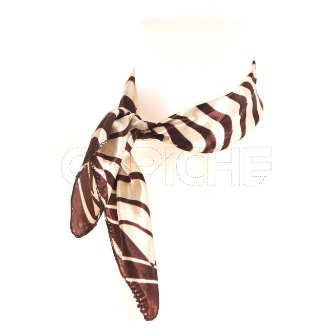 Lenço Cetim Zebra