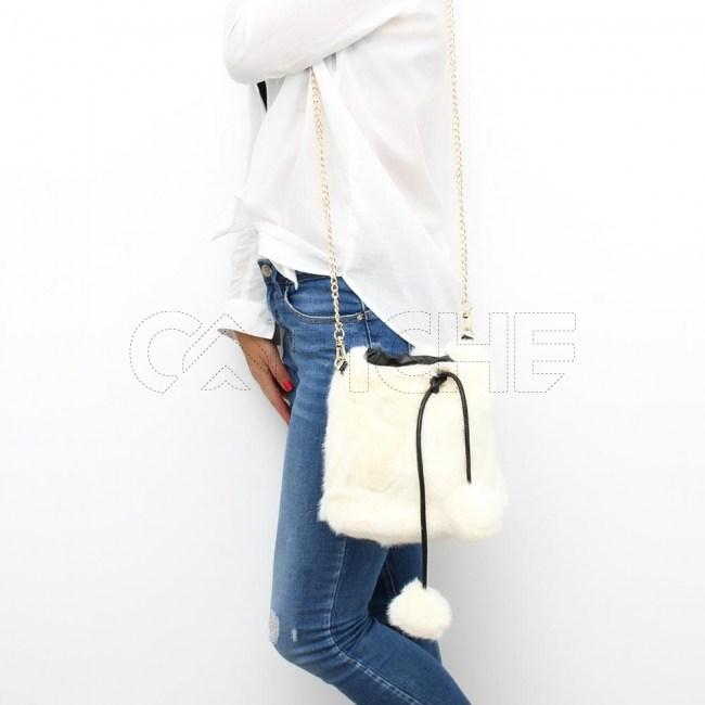 Mala / mochila Tussie Branca