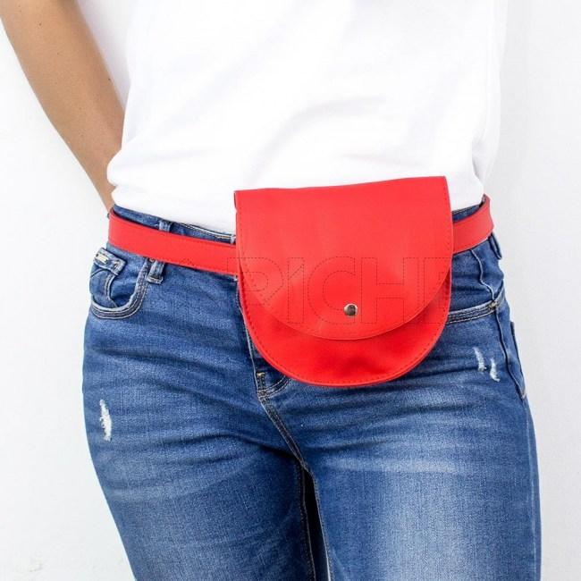 Mala de cintura  Zhan vermelho