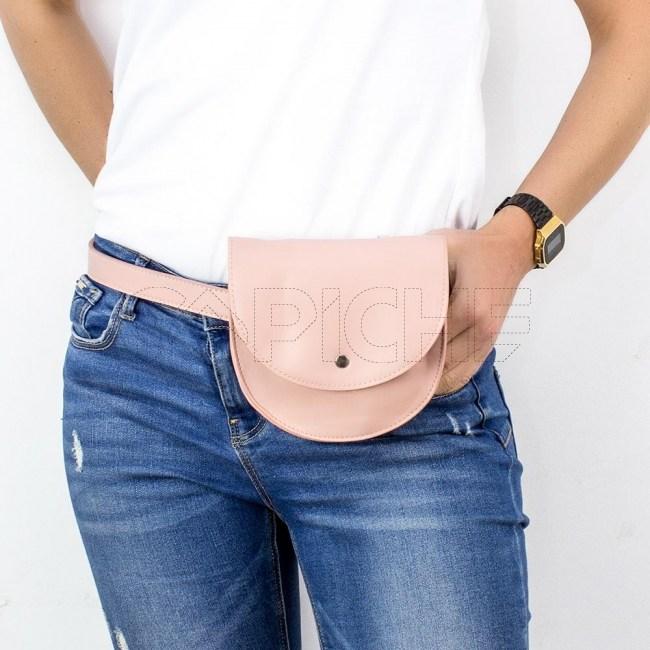 Mala de cintura  Zhan  rosa