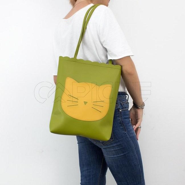 Mala Gato Verde