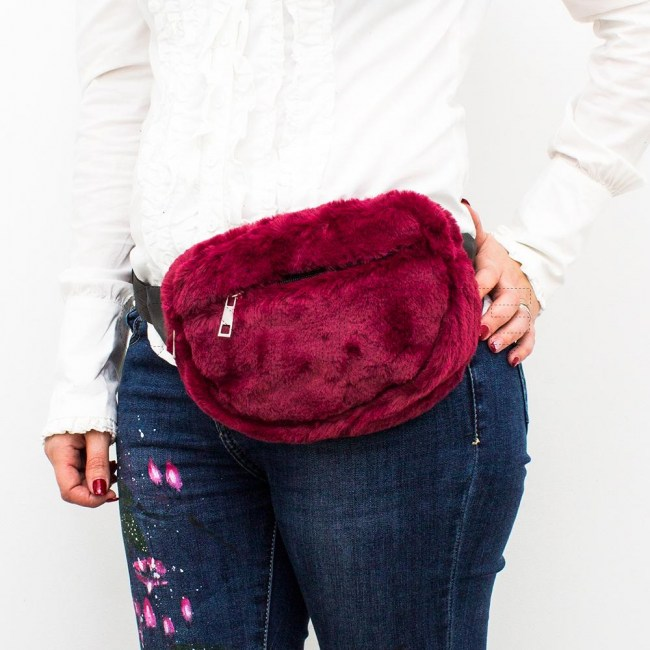 Bolsa de Cintura Fufy Bordeaux