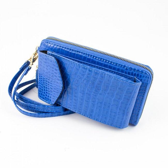 Carteira Telemovel Azul Claro