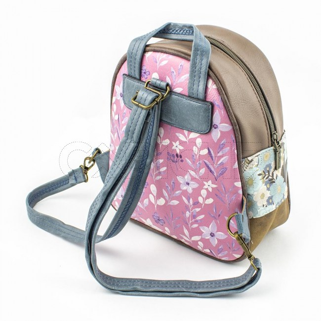 Mini Mochila  Candy purple