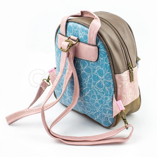 Mini Mochila Candy Blue