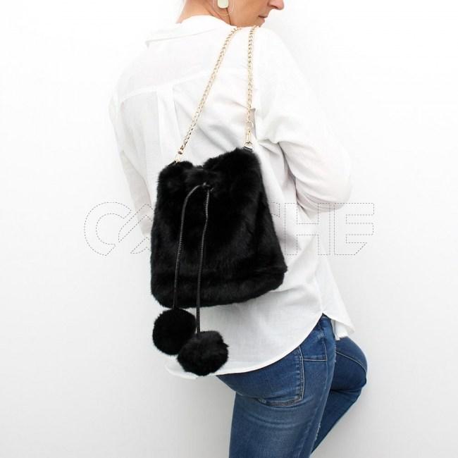 Mala/mochila Tussie Preta